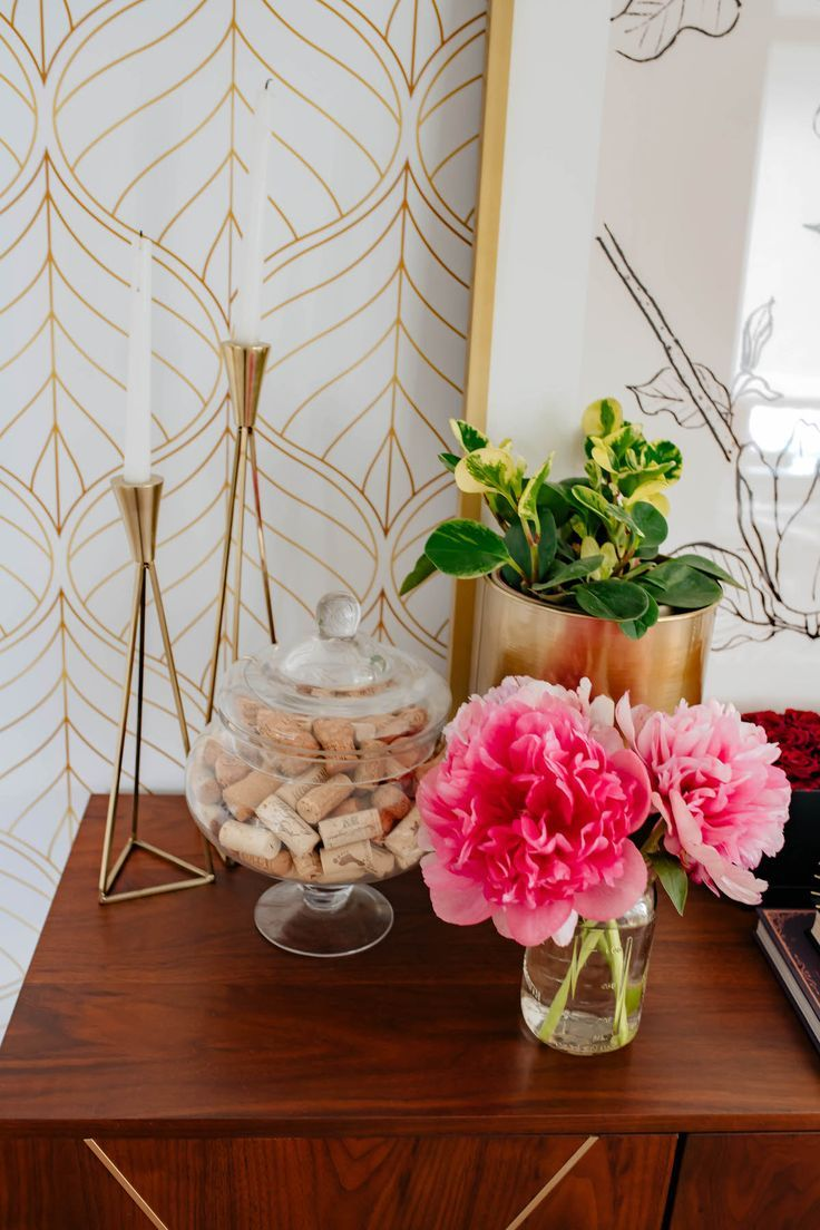 DIY Accent Wall How To Apply Temporary Wallpaper In A