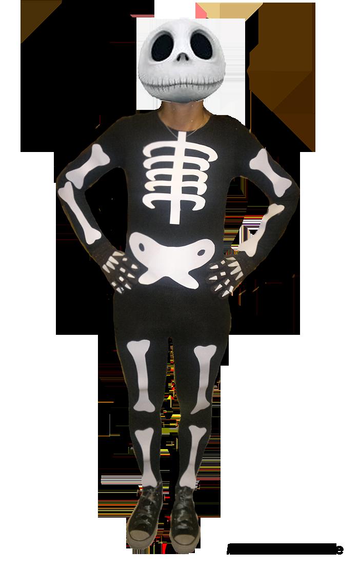 Costume da Scheletro Halloween ME creativeinside