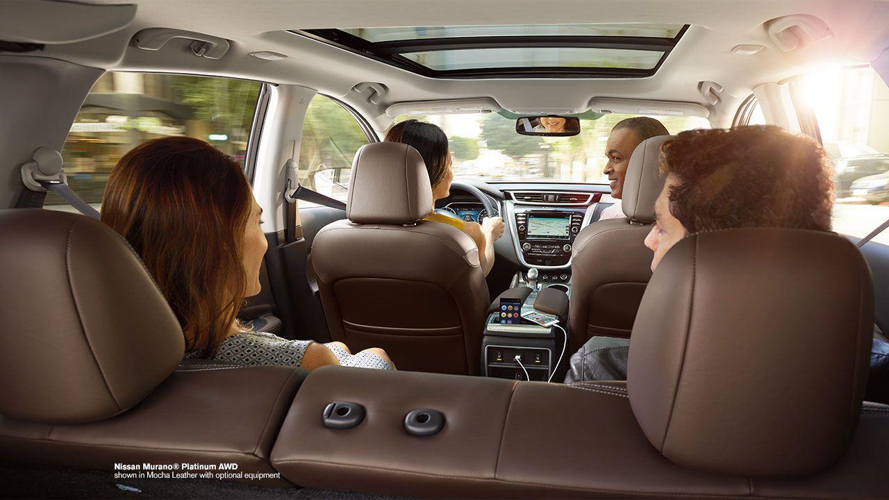 2015 Nissan Murano crossover premium interior shown in ...