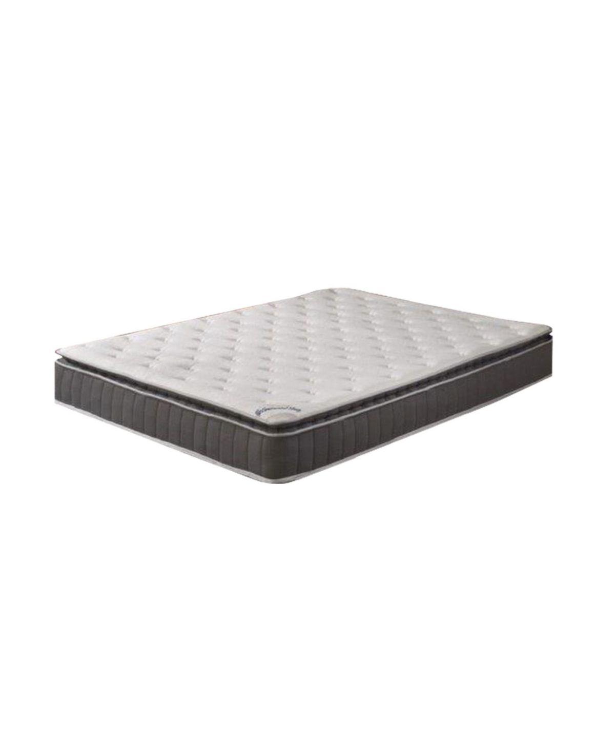 Foam Encased Pillow Top Mattress and Wood Box Spring or Foundation, Queen #pillowtopmattress