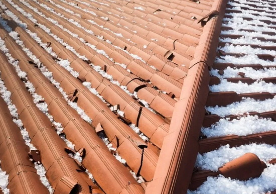 Roof Hail Damage 4 Tips For Homeowners In 2020 Roof Repair Roof Damage Roof Maintenance