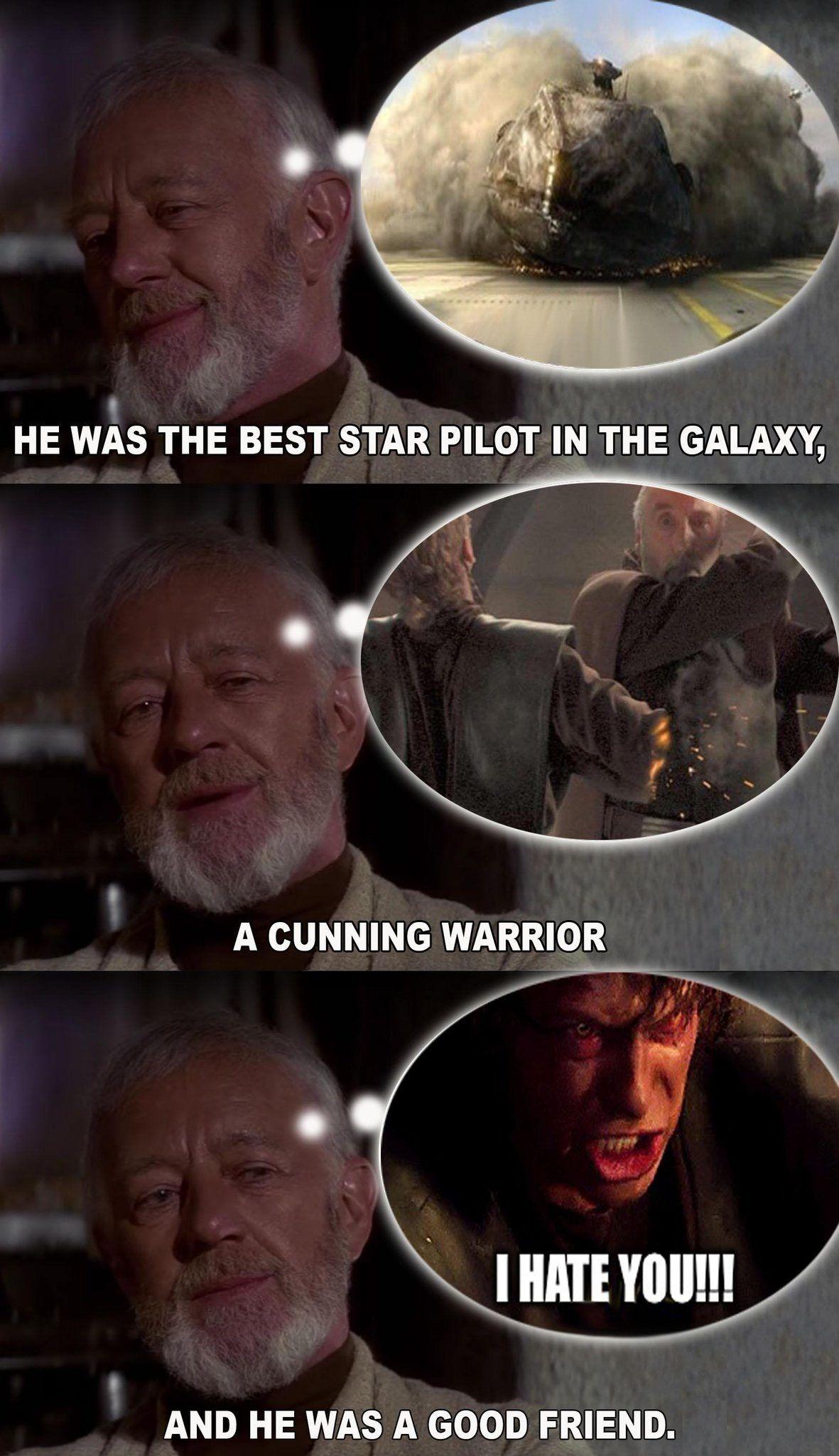 Pin By Daniel Feldmann On Don T Underestimate The Force Funny Star Wars Memes Star Wars Humor Star Wars Facts
