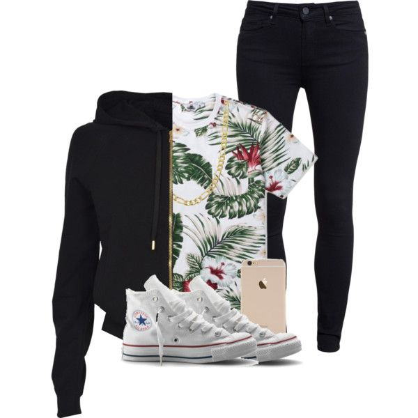 Untitled #420 by mufassa on Polyvore featuring polyvore, fashion, style, Versus, Penfield, Paige Denim, Converse and Fremada