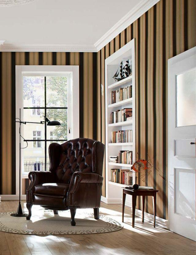 80 Wohnzimmer Tapeten Ideen – Coole, moderne Muster | Wohnzimmer ...