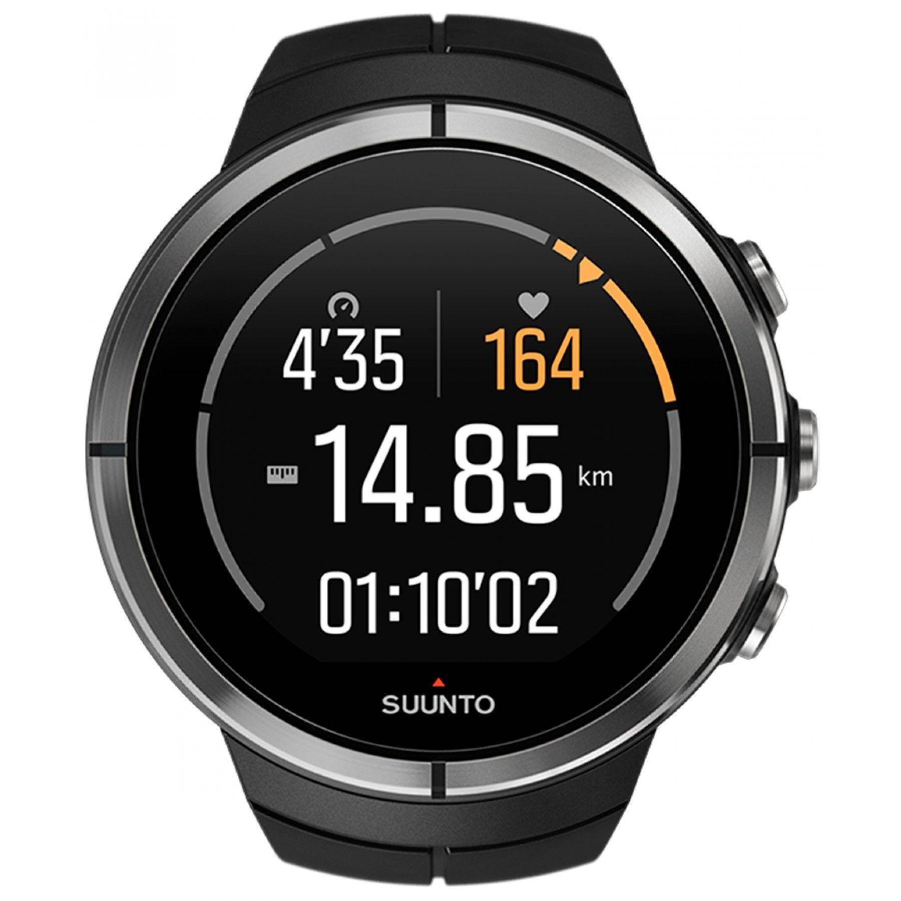0dc020e4db70 Reloj Suunto de la línea Spartan Ultra con caja de poliamida en color negro  bisel en