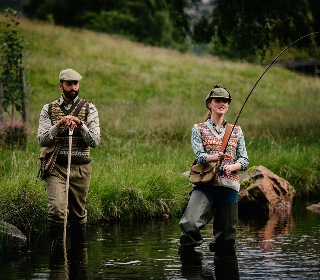 Campbell S Of Beauly On Instagram Reeling One In Flyfishing Fishing Salmonfishing Countryliving Countrylife Fly Fishing Salmon Fishing Country Wear