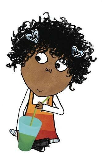Lotta From Charlie And Lola Black Characters Happy Art Book Day Costumes World Book Day Costumes