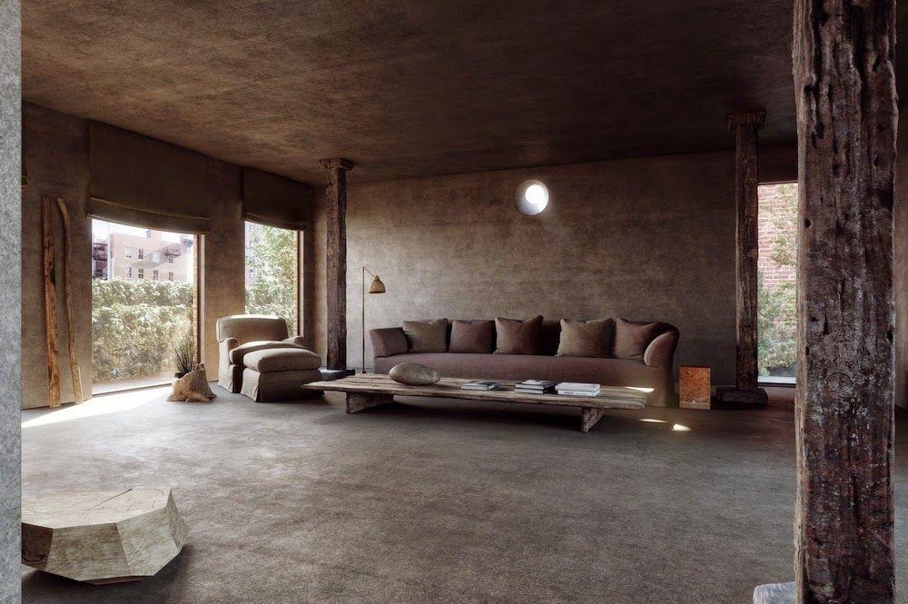 interior inspiration - axel vervoordt for greenwich hotel   axel