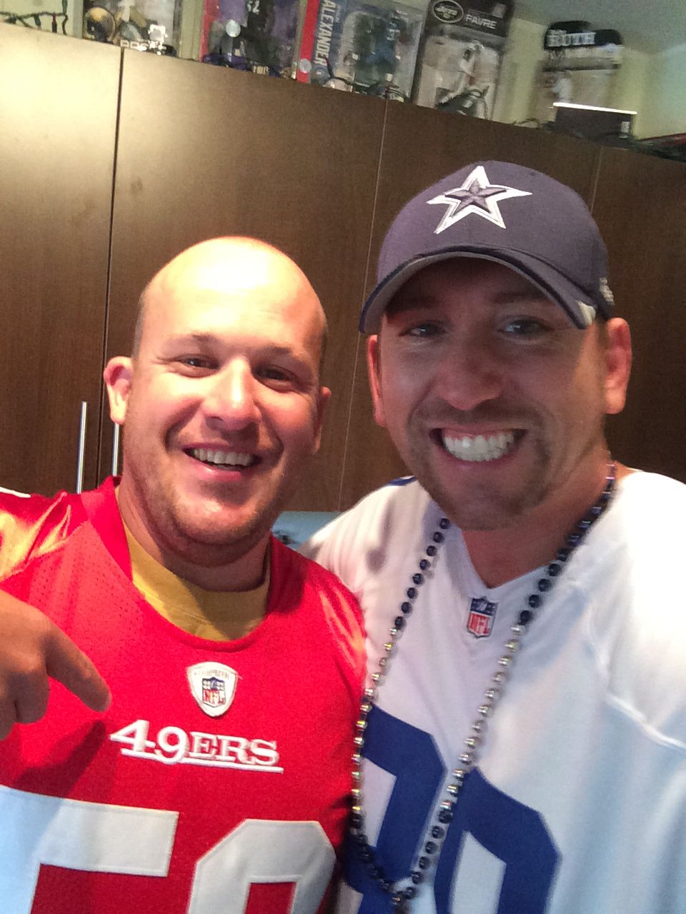 Dave and I week 1, the 49ers beat the Cowboys 2014