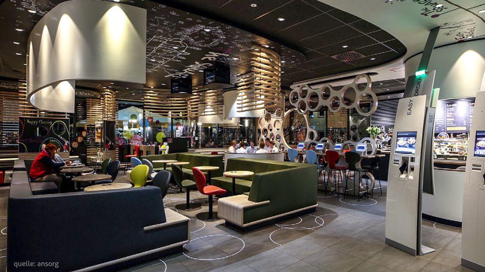 Gestaltung und Integrierung eines McDonalds Restaurants im