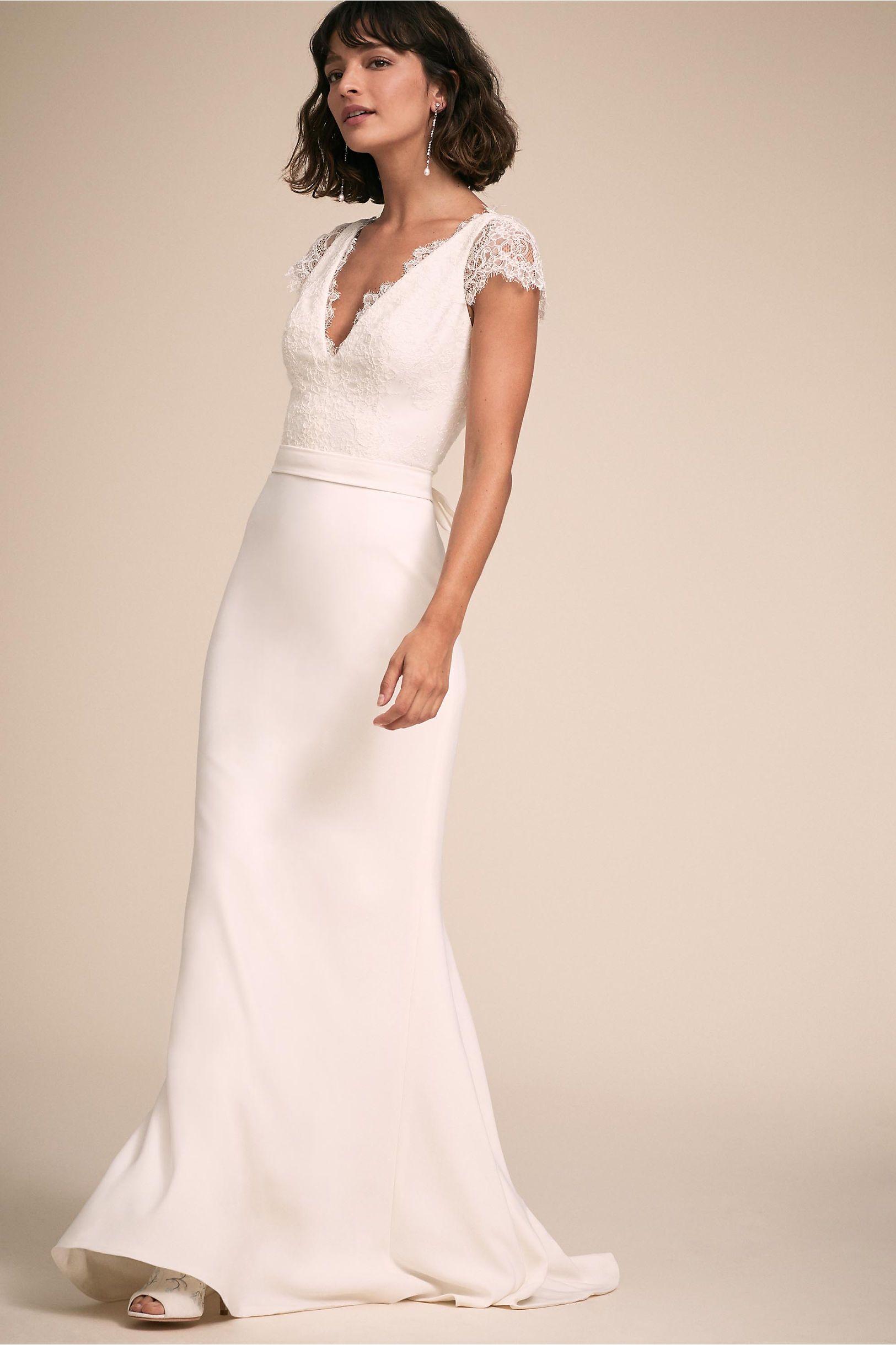 aa443295c2878 Smith Gown Ivory in Bride | BHLDN | Dress | Bhldn wedding dress ...
