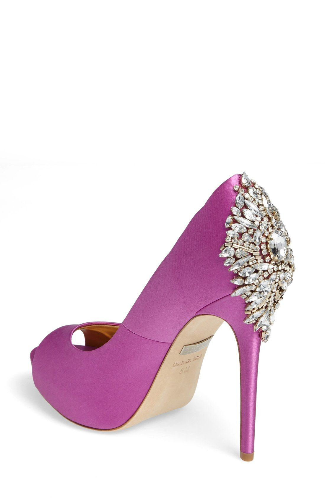 becb8f33e259 Radiant Orchid Wedding Shoes