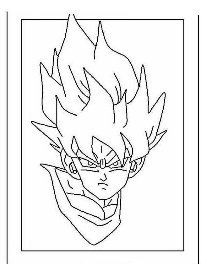Dragon Ball Z Ausmalbilder Malvorlagen Zeichnung Druckbare Nº 16