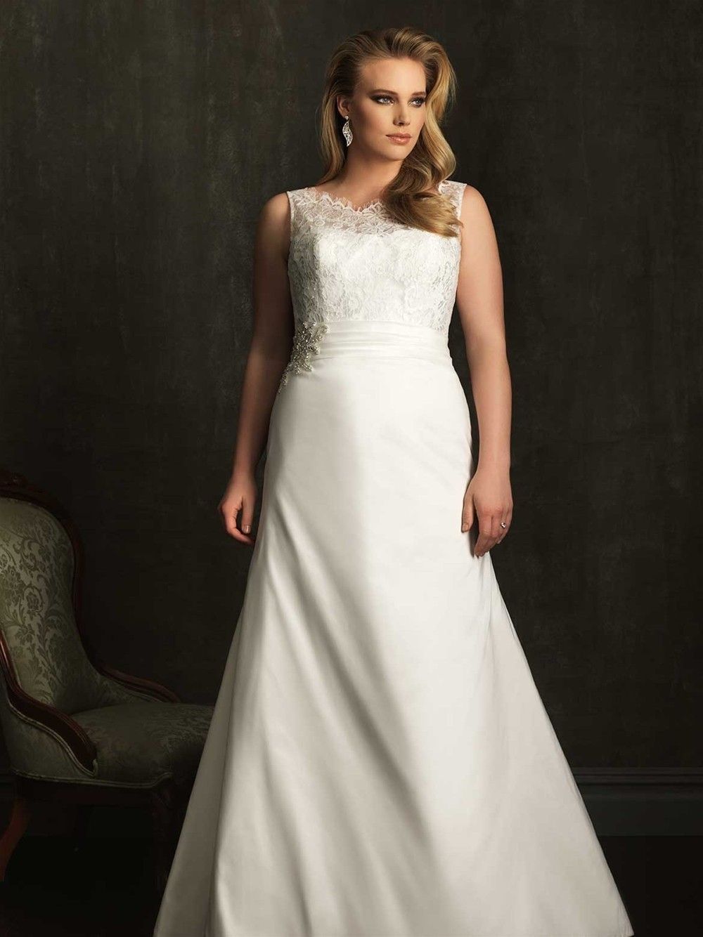 Allure women wedding dresses style w plus size wedding