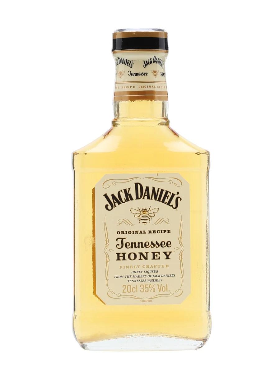 Jack Daniel S Tennessee Honey Whiskey Liqueur Small Bottle The Whisky Exchange Whiskey Honey Whiskey Tennessee Honey