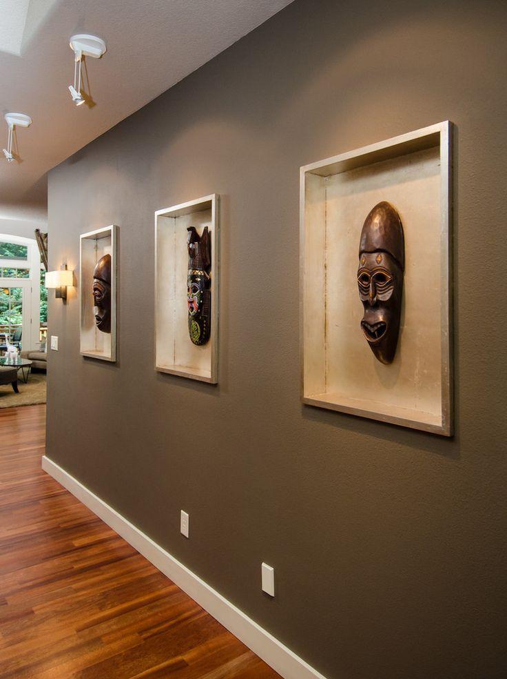 Photo of safari themed home decor masks | #africanprint #africandecor #homedecor #interio…