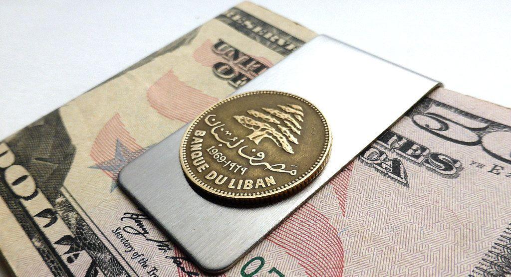 Lebanon Coin Money Clip