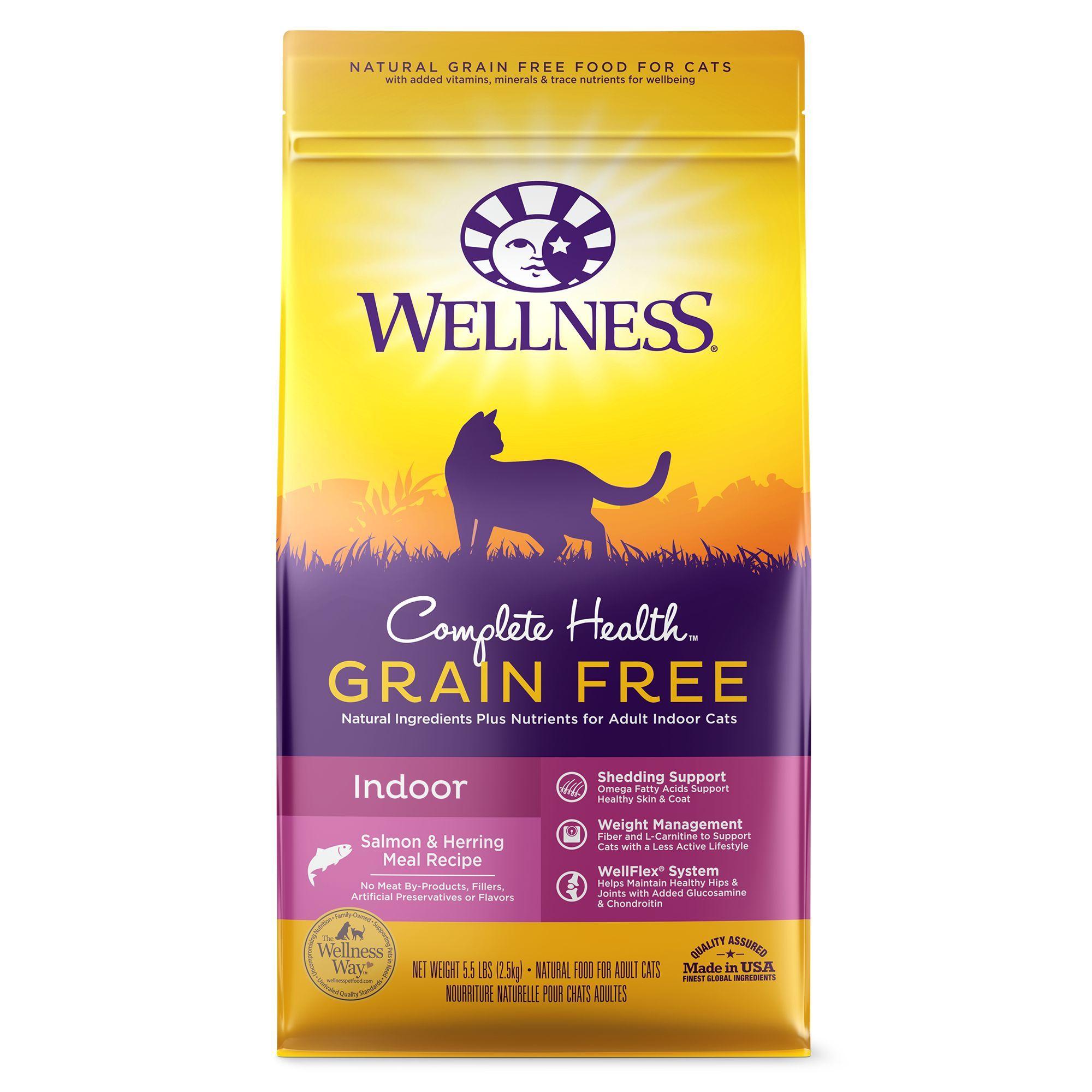 Wellness Complete Health Indoor Cat Food Natural Grain Free