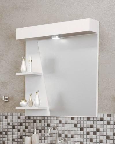 Mueble gavinete para ba o minimalista con sus espejos for Mueble con espejo para bano