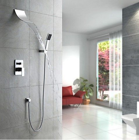 douche robinet avec douche 8 pouces douche main sc005 sc005 salle de bain. Black Bedroom Furniture Sets. Home Design Ideas