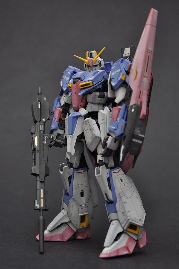 RG 1/144 Zeta Gundam: Modeled by ianshuu. Photoreview Big Size Images