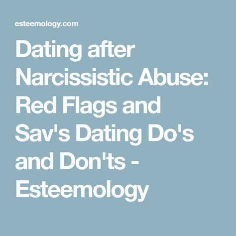Boobed dating a narcissistic red flags shared sex