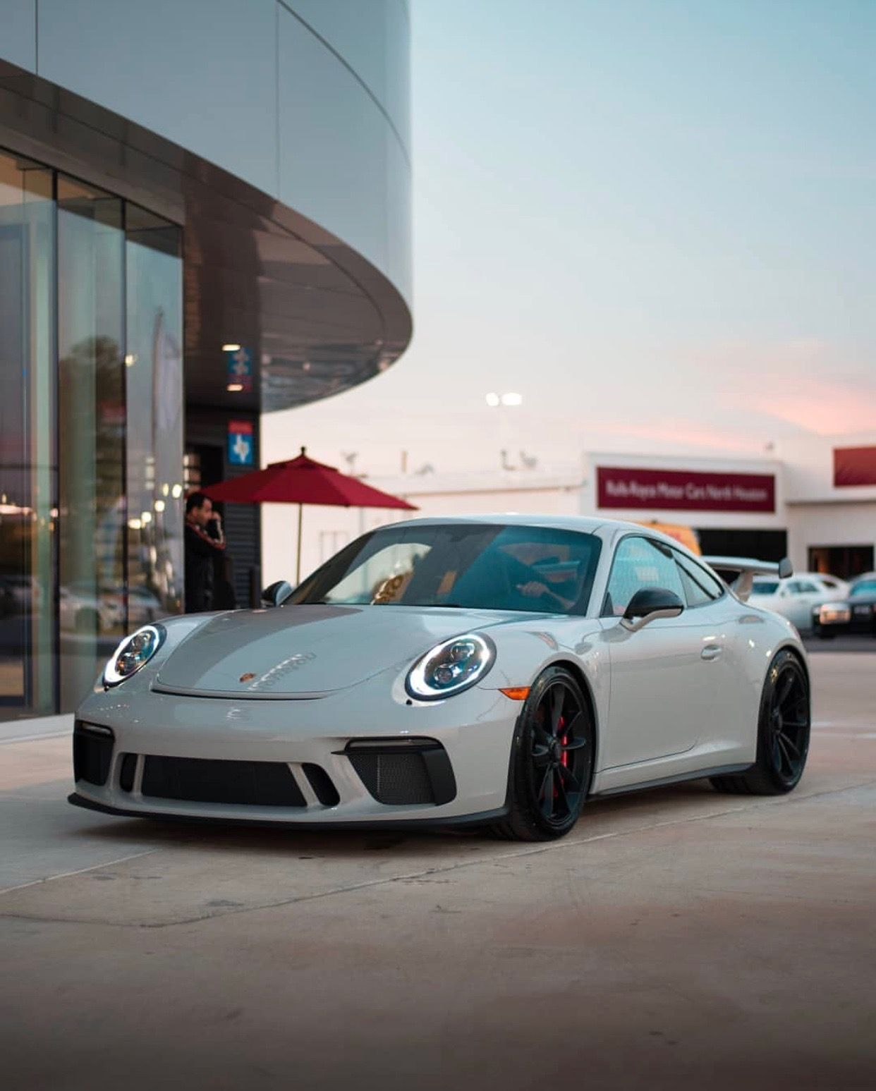 Porsche 991 2 GT3 painted in paint to sample Chalk taken by ldv photography on Instagram
