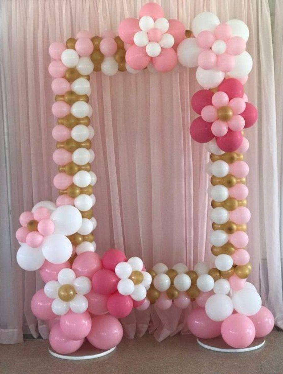 Ballon booth baby shower balloon arch baby shower