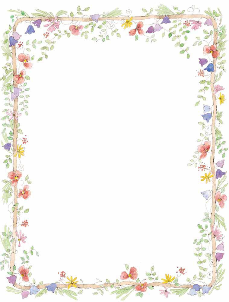 Free Flower Border Clip Art We Are Here To Witness The Marriage
