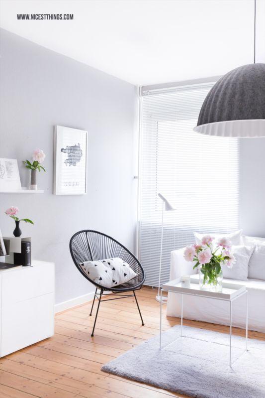 Harmonie im Wohnzimmer Acapulco Chair, weißen Möbeln, grauen - bilder für wohnzimmer
