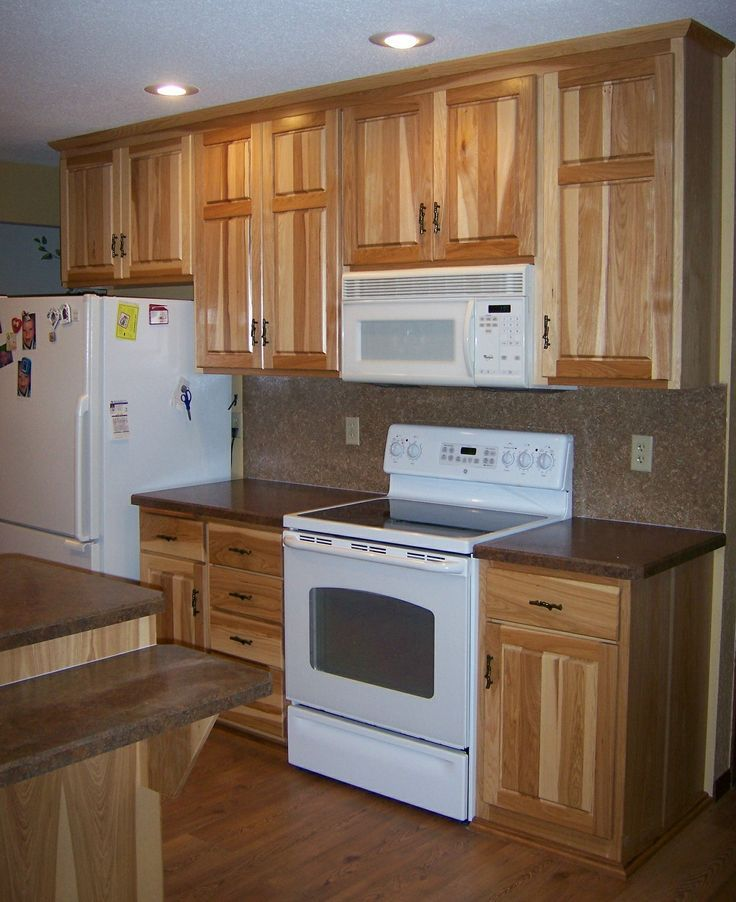 Pictures Of Rustic Kitchen Cabinets: Image Result For Maple Cabinets With White Appliances