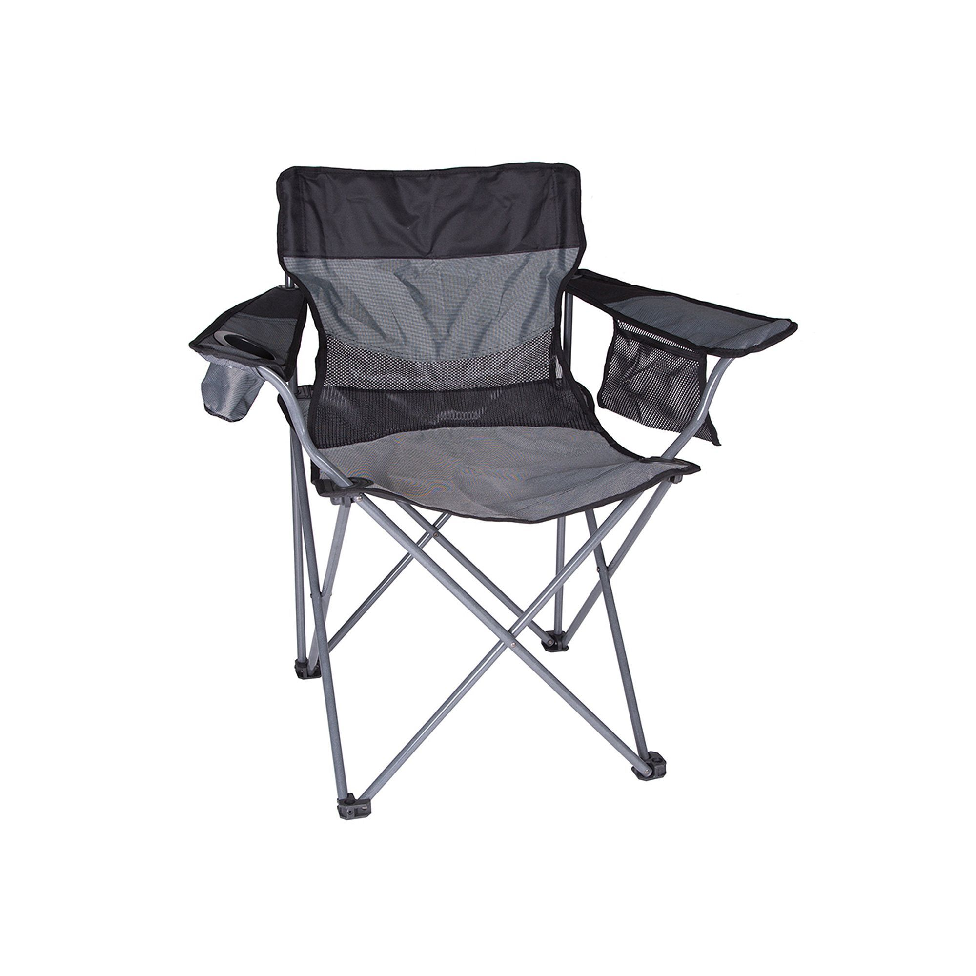 Outdoor Stansport Apex Deluxe Oversize Camp Chair, Black