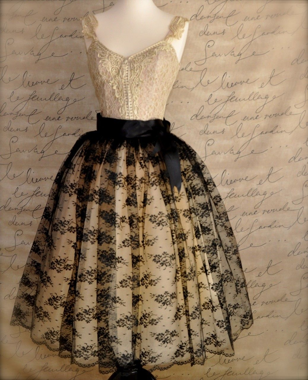 French chantilly lace love it style pinterest tulle tutu