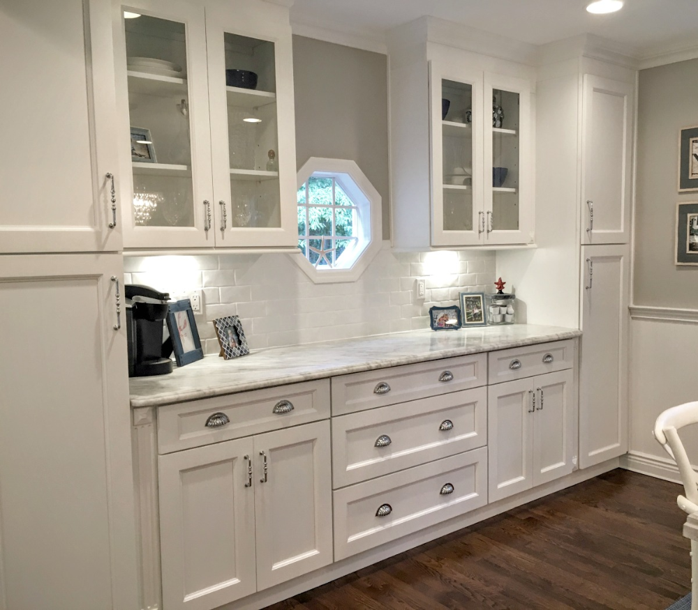 Providence White Ready To Assemble Kitchen Cabinets The Rta