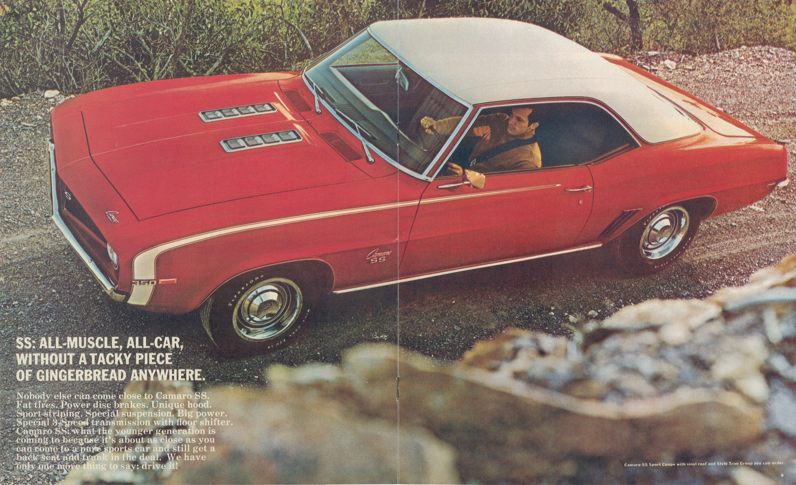 1969 Camaro SS brochure | 1969 Camaro | Pinterest | Camaro SS and Cars