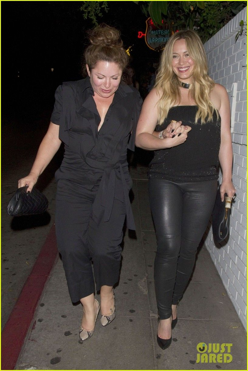 Hilary Duff: I Needed A Girls Night Out!