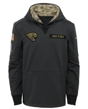 finest selection 9b305 23376 Nike Jacksonville Jaguars Salute to Service Hoodie, Big Boys ...