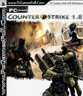 Counter Strike 1 8 Game Download Full Version Free For Pc Games And Softwares Counter Strike Source Download Games Fun Online Games
