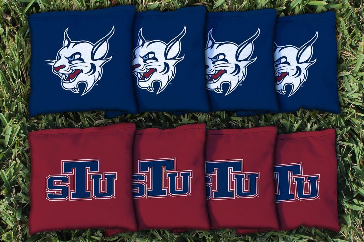 St. Thomas Bobcats Team Logo Cornhole Bag Set