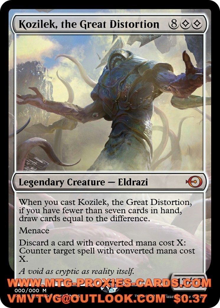 Kozilek The Great Distortion Edh