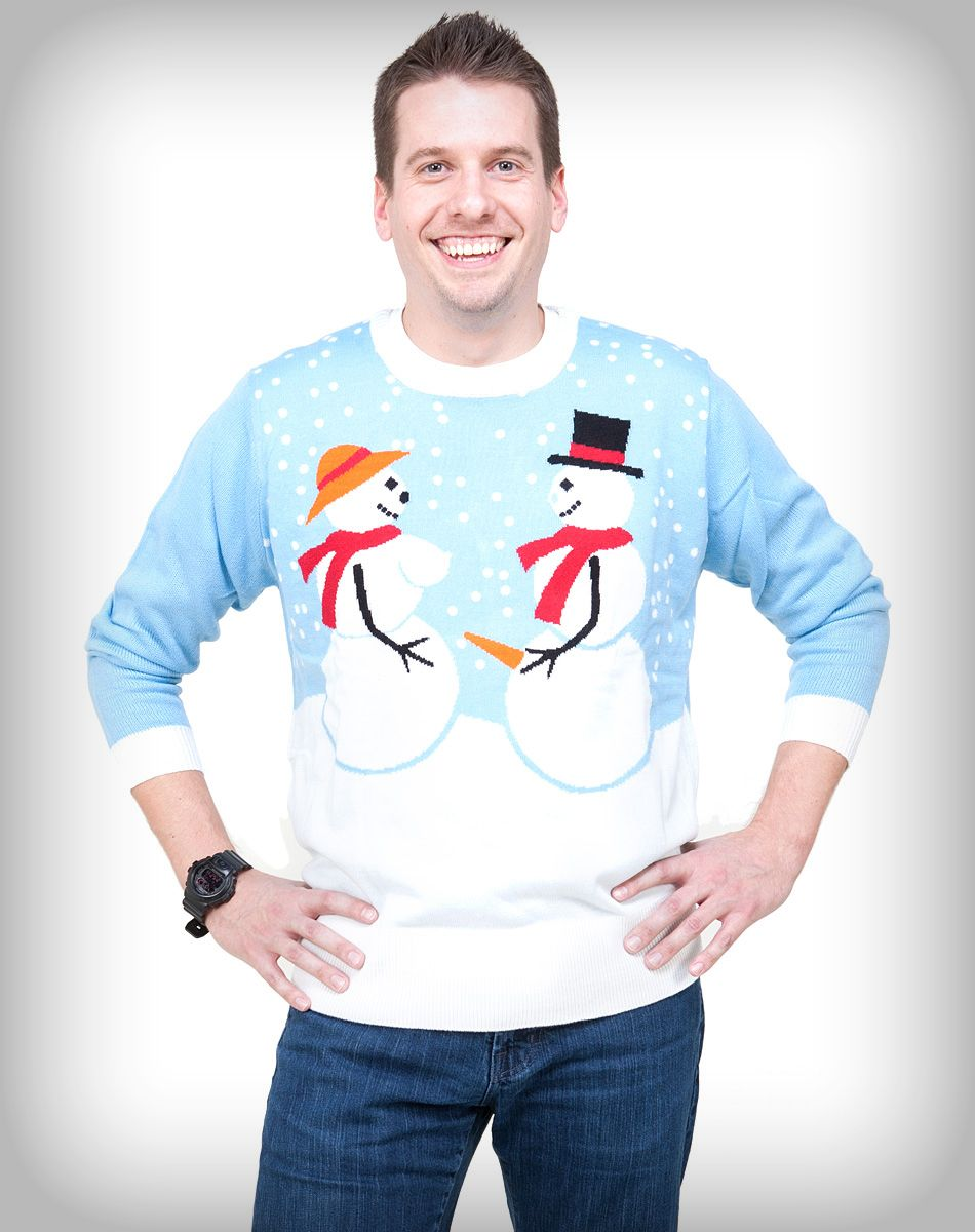 Snow Couple Adult Sweater   Ugly Christmas Sweaters/Shirts ...
