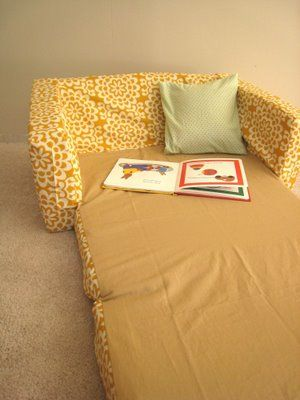 diy kids chair couch makeover