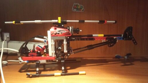 Lego Technic Helicopterinstructions By Nico71 Lego Technic