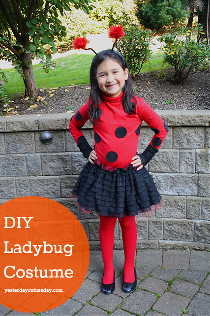 25 simple do it yourself halloween costume ideas ladybug costume 25 simple do it yourself halloween costume ideas simple as that solutioingenieria Choice Image