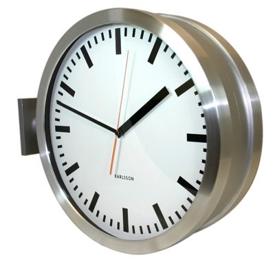 karlsson double sided station clock