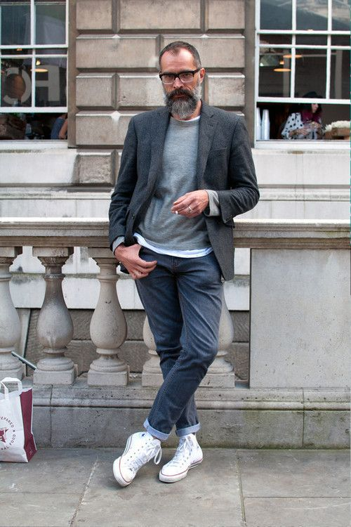 Mens street style, Suits and sneakers