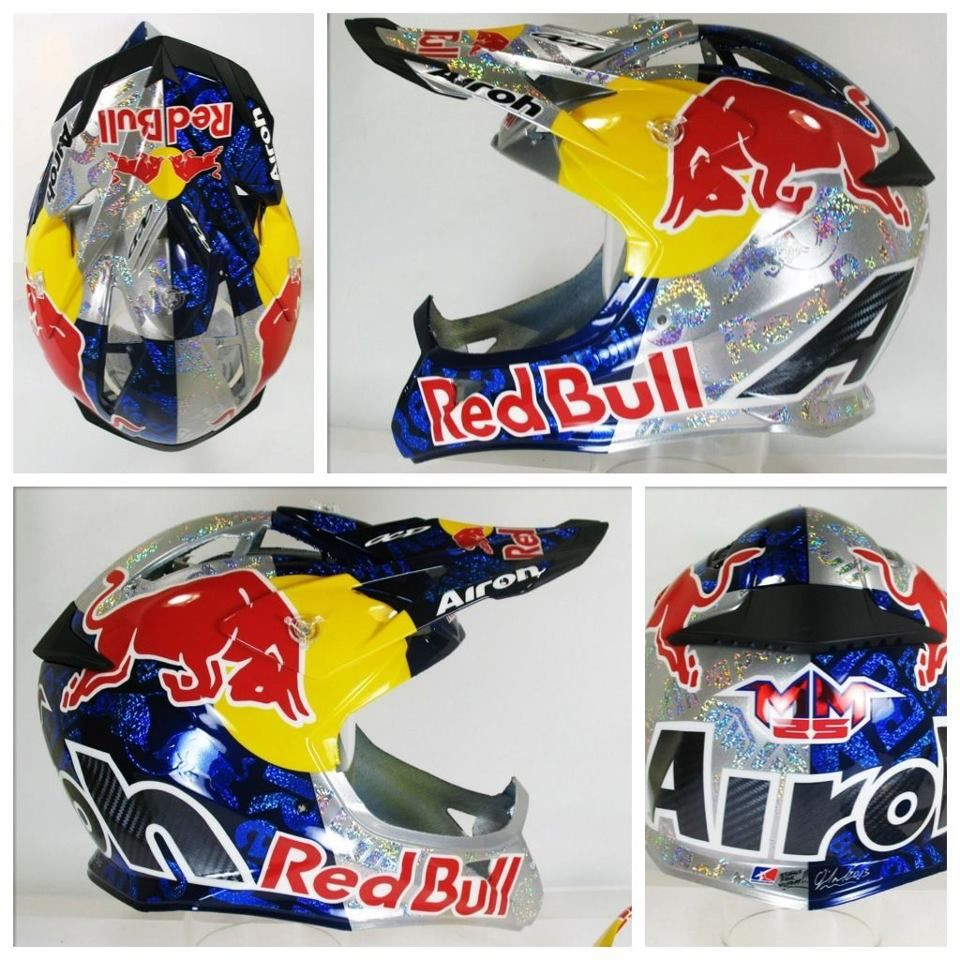 Marvin Musquin Airoh Red Bull Dirt Bikes Motorcycle Helmets
