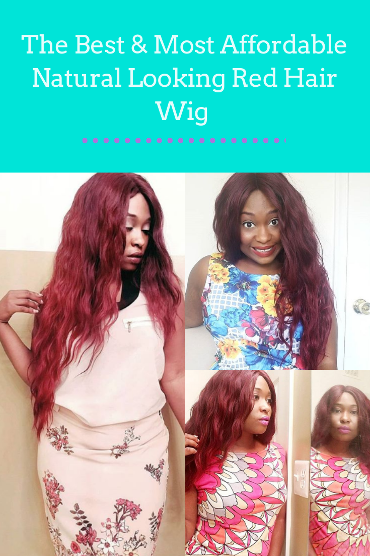 The Best   Most Affordable Natural Looking Red Hair Wig Check out this  super affordable red 9902310e8