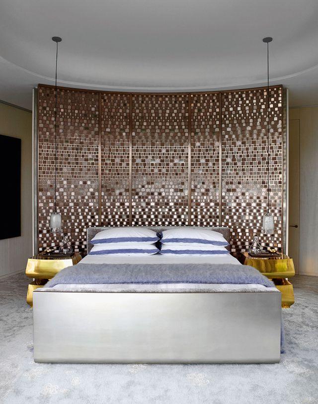 Yabu Pushelberg Opus building Hong Kong Bedroom Pinterest