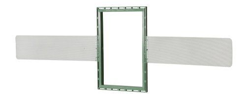 """AudioSource NCBI6 6-Inch Construction Bracket for AudioSource AS6S and Phoenix Gold ATI6 by AudioSource. $4.99. This AudioSource NCBI6 6-Inch Construction Bracket allows you to mount the AudioSource AS6S or Phoenix Gold ATI6 in a new construction setting. The ABS plastic ring can be adjusted vertically or horizontally. Each ring includes a pair of wire mesh wings that are adjustable up to 24"""" on center. Package includes two brackets."""